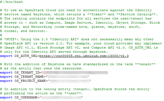 Getting Started Guide for UKCloud for OpenStack | UKCloud
